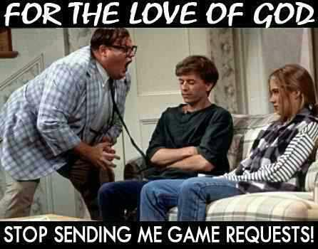 Facebook game requests